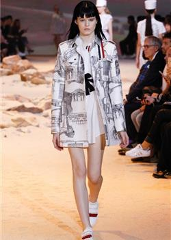 Moncler Gamme Rouge 2017春夏系列